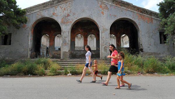 Жители города Гори