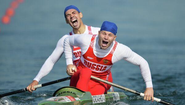 Российские спортсмены Илья Первухин и Алексей Коровашков. Архивное фото