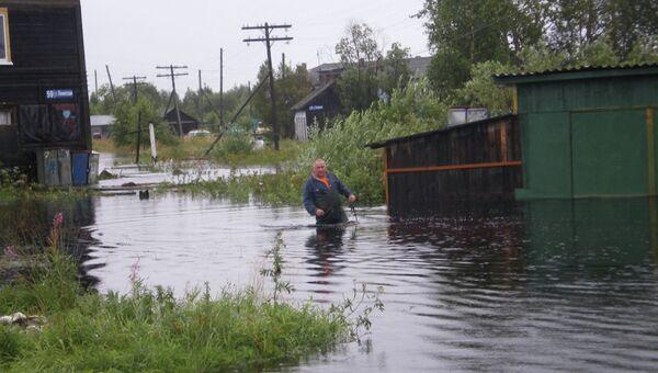 Последствия сильных дождей в Республике Карелия