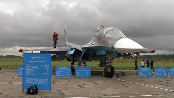 Су-34 высотой с трехэтажный дом готовят к авиасалону под Питером