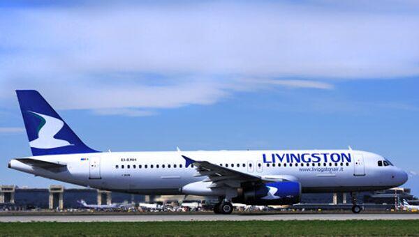 Самолет авиакомпании New Livingston. Архив