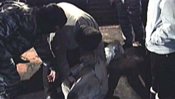 Сергей Цапок показал, как связывал одну из жертв кущевской банды