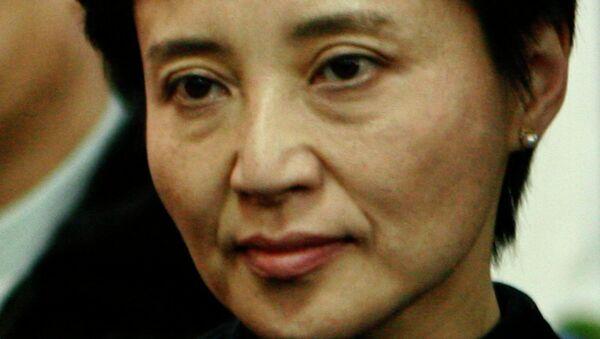 Жена экс-главы города Чунцин Гу Кайлай.