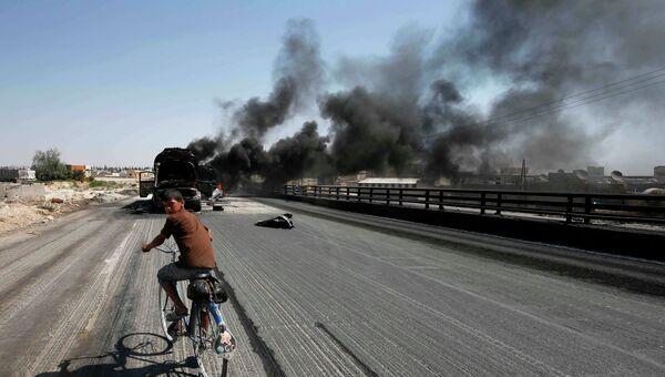 Ситуация в Алеппо 27 августа 2012