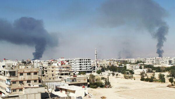 Ситуация в Дамаске