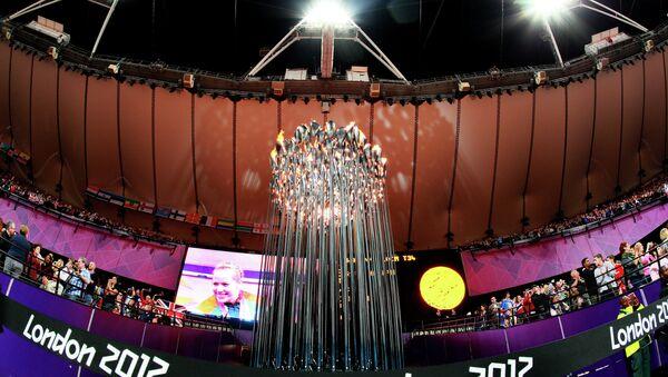 Факел Паралимпиады - 2012