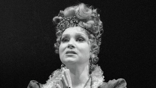 Актриса Евгения Глушенко. Архивное фото