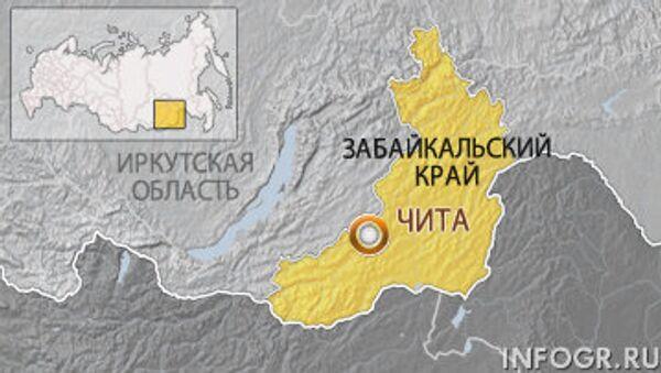 Забайкальский край. Карта