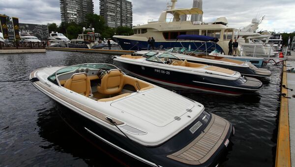 Москва яхты катера выставка