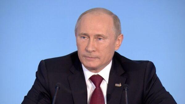 О расходах на АТЭС, Газпроме и Клинтон – Путин подвел итоги саммита