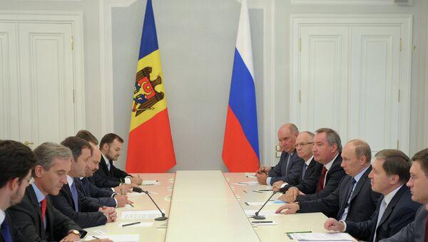 Российско-молдавские переговоры. Архивное фото