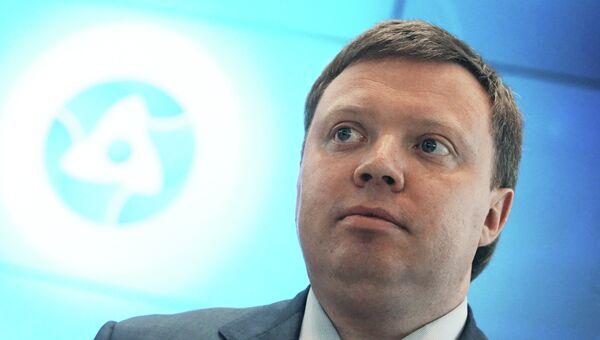 Заместитель генерального директора по развитию и международному бизнесу государственной корпорации Росатом Кирилл Комаров. Архивное фото
