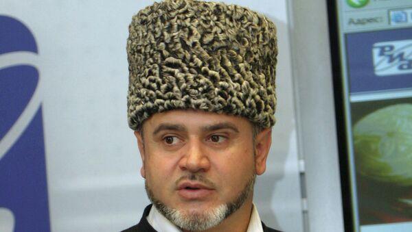 Шафиг хаджи Пшихачев. Архивное фото