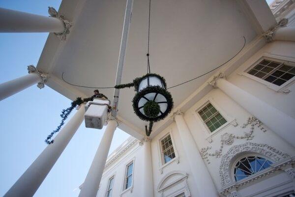 Белый дом - официальная резиденция президентов США