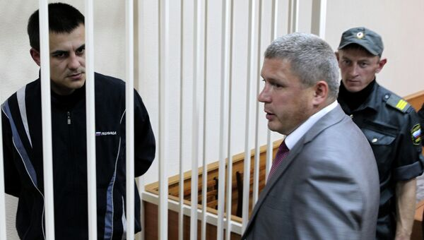Оглашение приговора по делу бывших полицейских ОП Дальний. Архивное фото