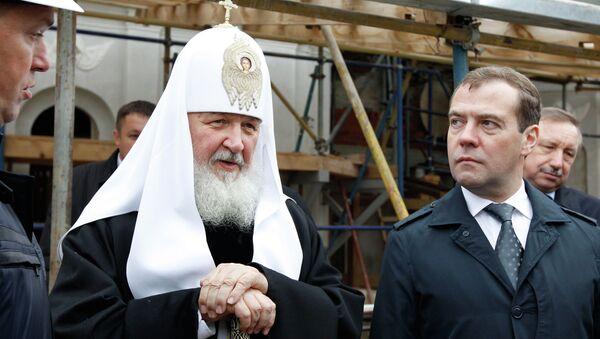 Посещение Д. Медведевым Ново-Иерусалимского монастыря