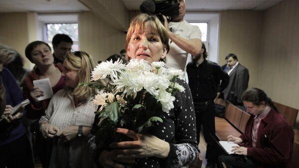 Заседание суда по делу Ольги Зелениной