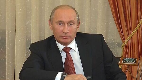 Путин о действиях западных стран по отношению к Сирии