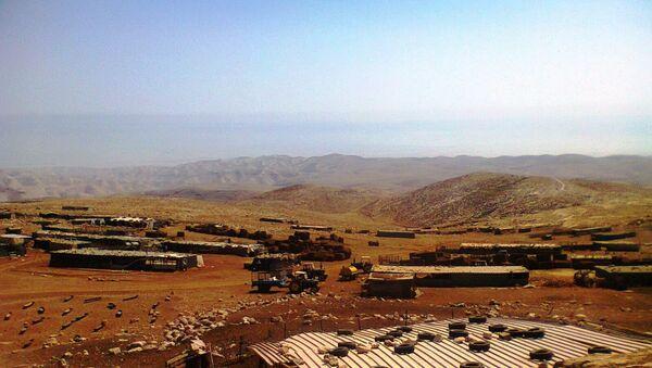 Поселок бедуинов на Западном берегу реки Иордан