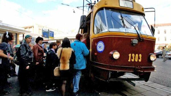 Трамвайные истории: ретро-маршрут Аннушка