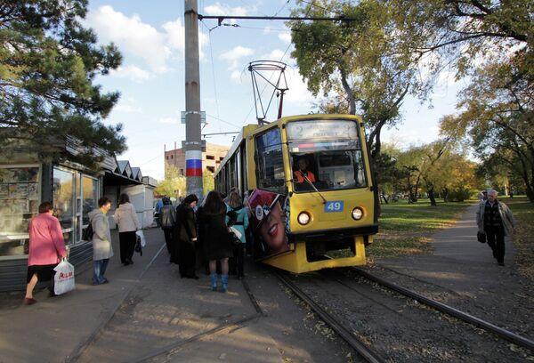 Омск трамвай профессия транспорт