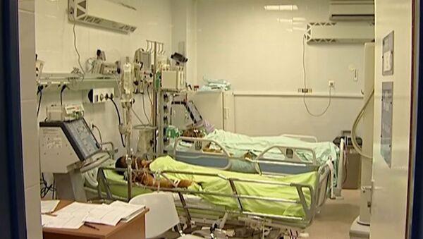 Пострадавшие при пожаре на заводе под Ханты-Мансийском в больнице
