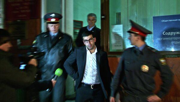 Мурат Агаларов явился в мировой участок при Тверском суде