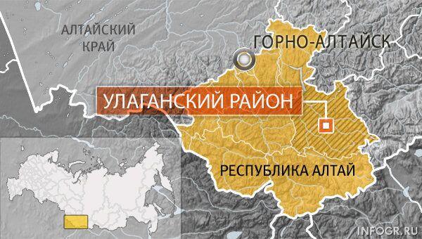 Улаганский район Горного Алтая