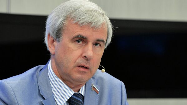 Депутат Госдумы Вячеслав Лысаков. Архив