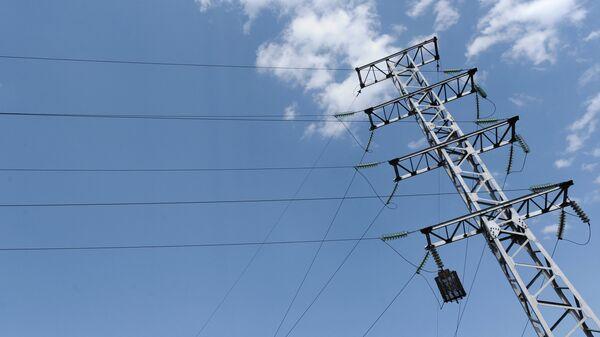 Линия электропередач. Архивное фото