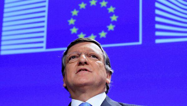 Председатель Еврокомиссии Жозе Мануэл Баррозу, архивное фото