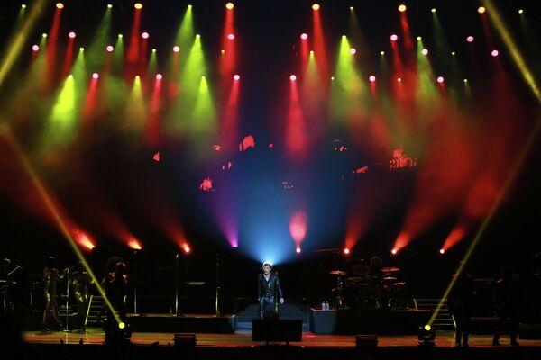 Концерт Джонни Холлидея в Москве