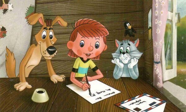 Кадр из мультфильма Каникулы в Простоквашино