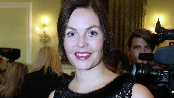 Телеведущая Екатерина Андреева. Архивное фото