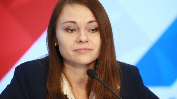 Председатель центрального совета Общероссийской молодежной общественной организации Российский союз сельской молодежи Юлия Оглоблина