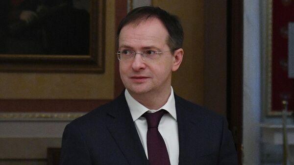 Бывший министр культуры РФ, помощник президента Владимир Мединский