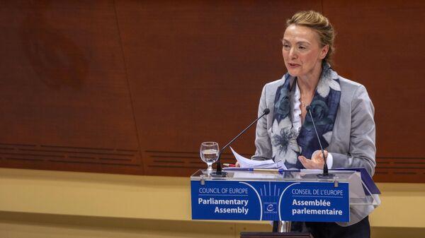 Генеральный секретарь Совета Европы Мария Пейчинович-Бурич