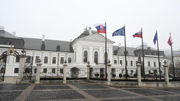 Дворец Грашалковичей — дворец XVIII века в Братиславе, ныне резиденция президента Словакии