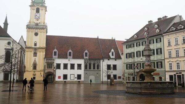 Главная площадь Братиславы
