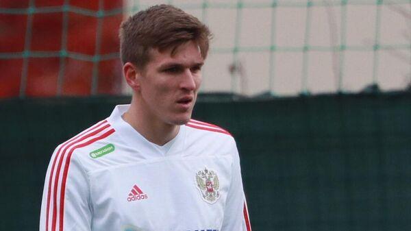 Футболист Александр Соболев