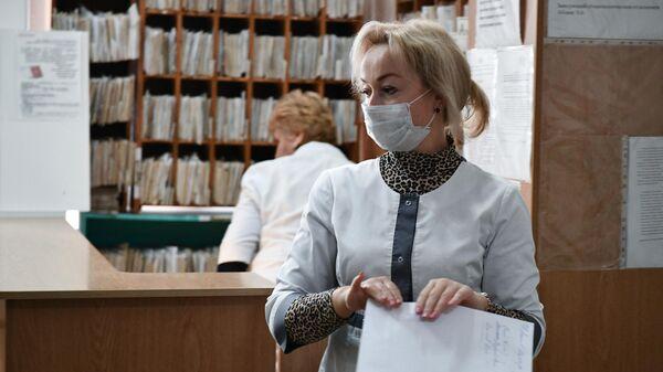Сотрудники Пионерской участковой больницы села Пионерское Симферопольского района