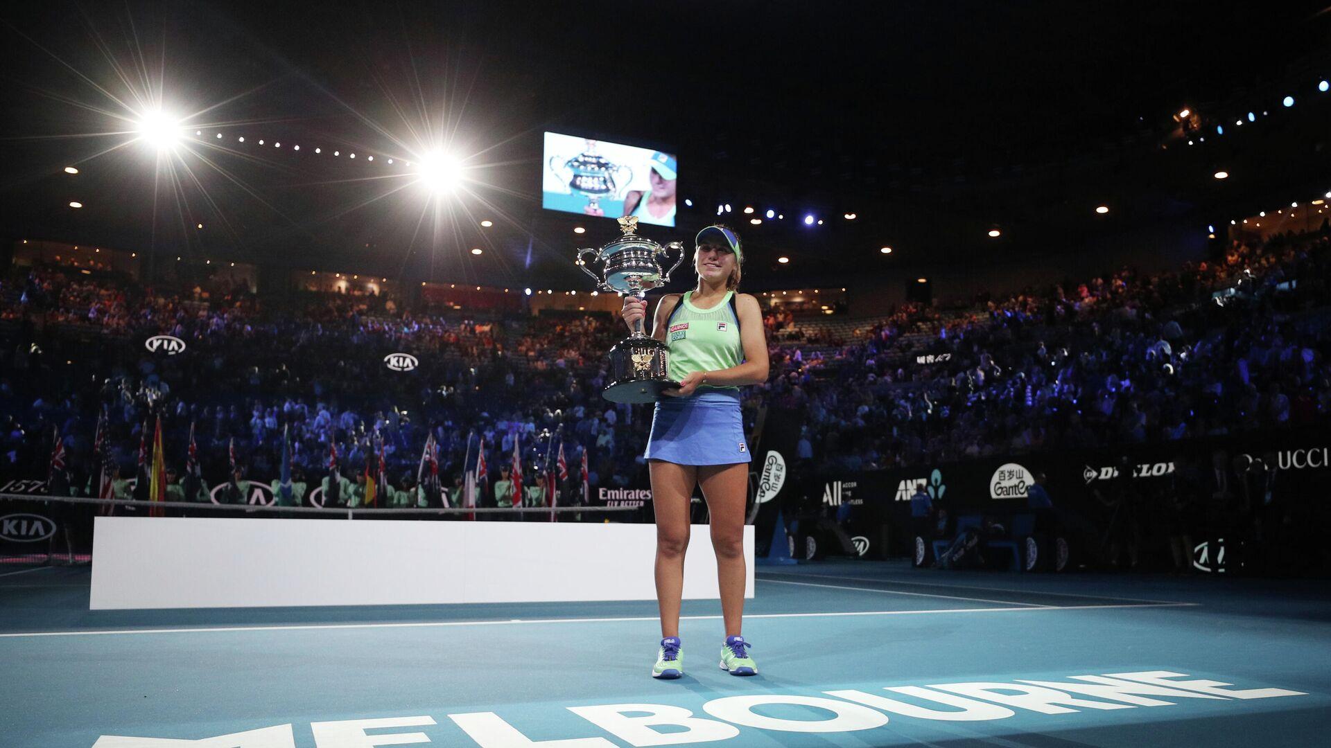 София Кенин после победы на Australian Open - РИА Новости, 1920, 08.12.2020