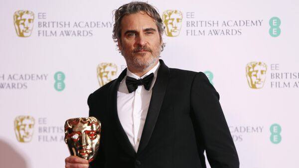 Актер Хоакин Феникс на церемонии вручения премии BAFTA в Лондоне