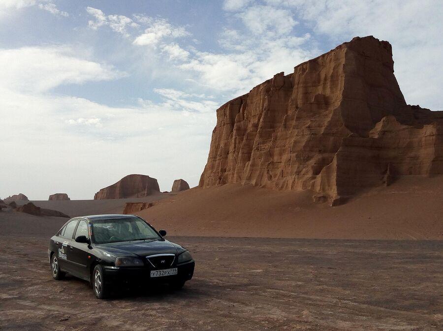 Иран. Деште-Лут, самая жаркая пустыня в мире