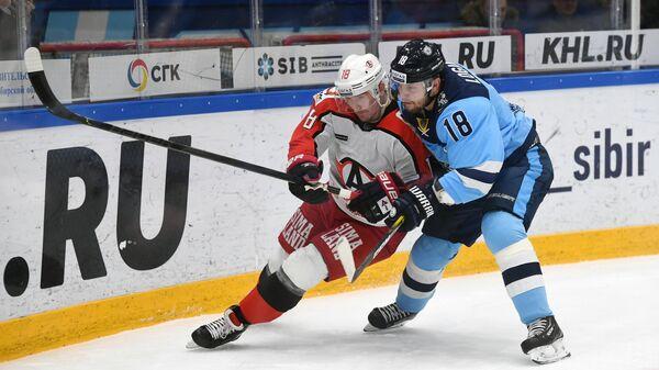 Хоккей. КХЛ. Матч Сибирь – Автомобилист