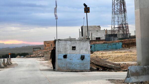 Город Манбидж в Сирии
