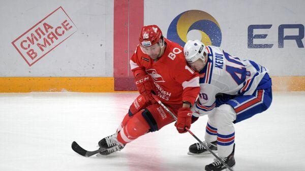 Хоккей. КХЛ. Матч Спартак – СКА