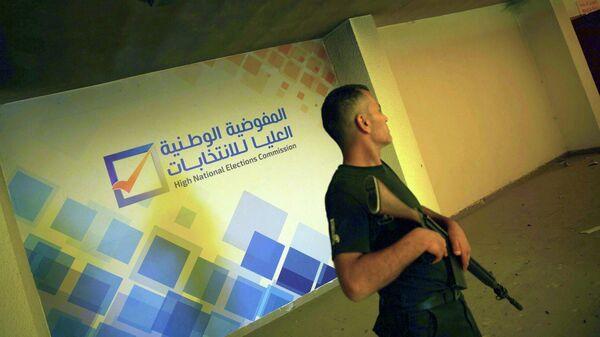 Полицейский в Триполи