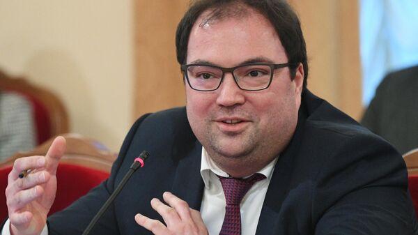Министр цифрового развития, связи и массовых коммуникаций Российской Федерации Максут Шадаев