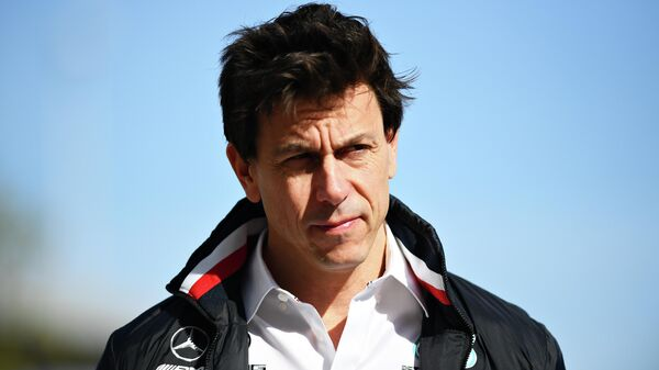 Глава команды Формулы-1 Мерседес Тото Вольфф